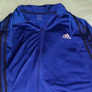 ADIDAS TRACK JACKET large mens